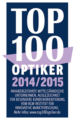 Top 100 Optiker 2014/15