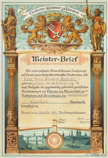 Ehrenmeister des Oldenburgischen Handwerks