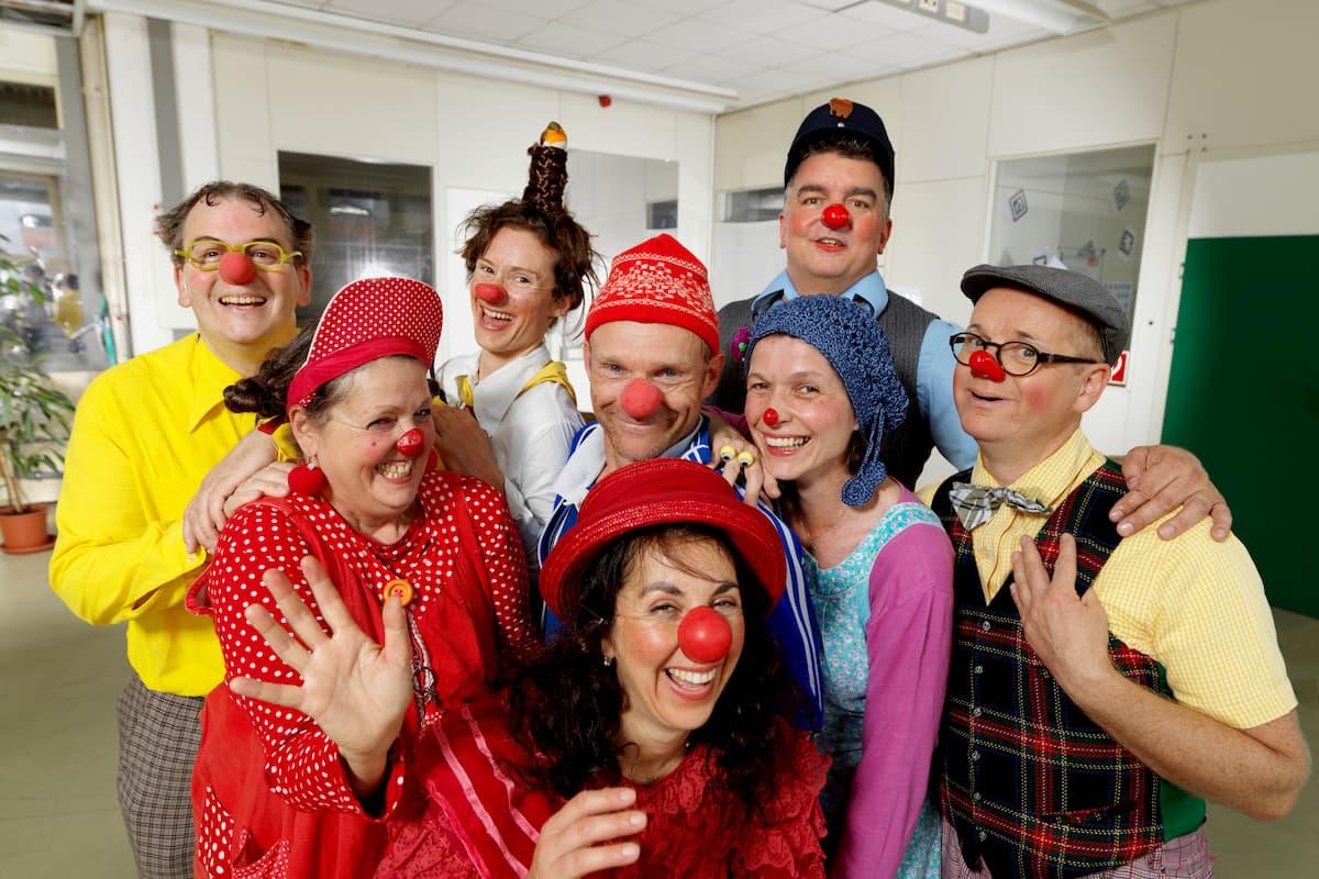 Die Clowns HUMOR HILFT HEILEN Foto Michael Fuchs