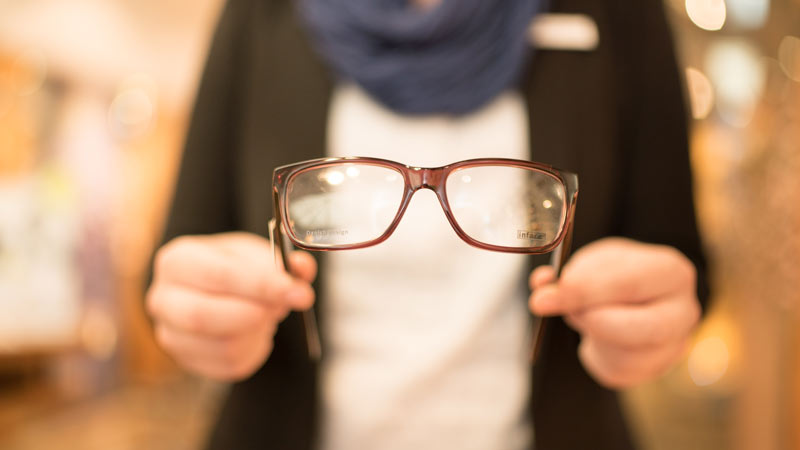 Brille Brillengläser