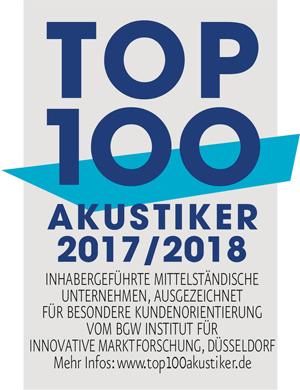 Top 100 Akustiker 2017/18