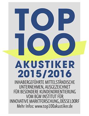 Top 100 Akustiker 2015/16
